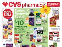 CVS Ad April 18 - 24, 2021 and 4/25/21