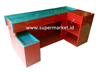 meja kasir besi