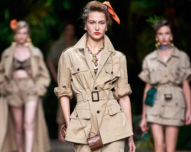 Dolce & Gabbana весна-лето 2020 Показ моды 1