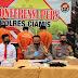 Satreskrim Polres Ciamis Bekuk 2 Orang Warga Ngaku Mengatas Namakan Agen KPK