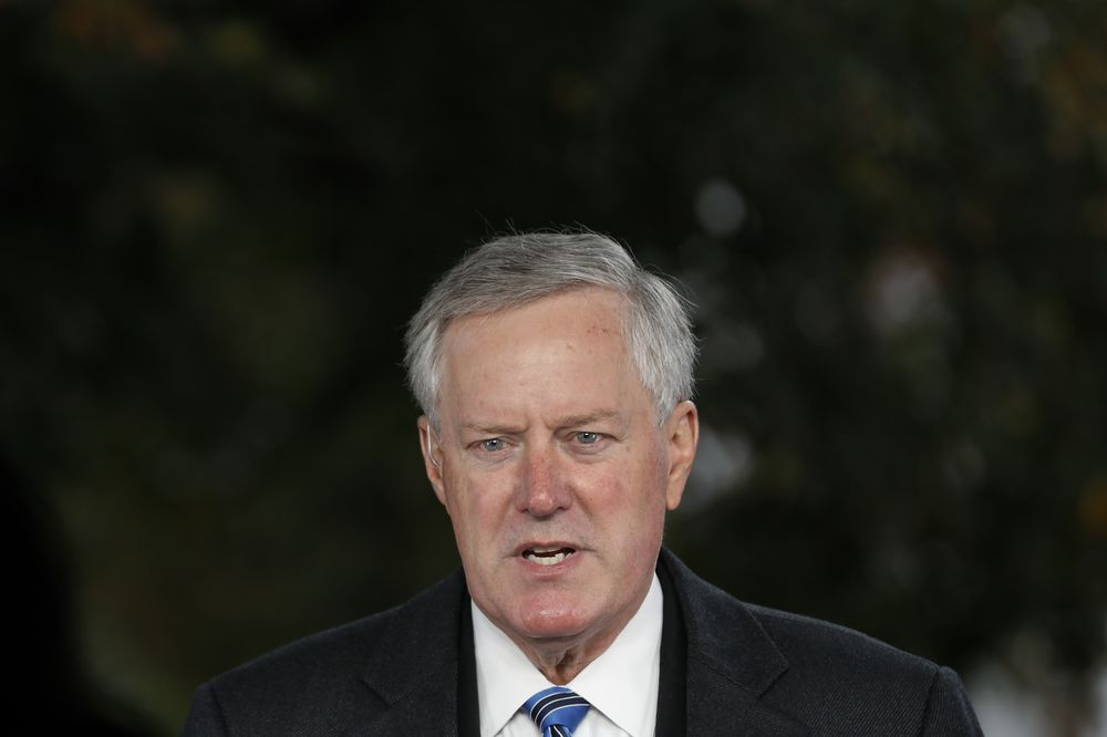 Mark Meadows .. the Trump's Chief of Staff  infected with coronavirus