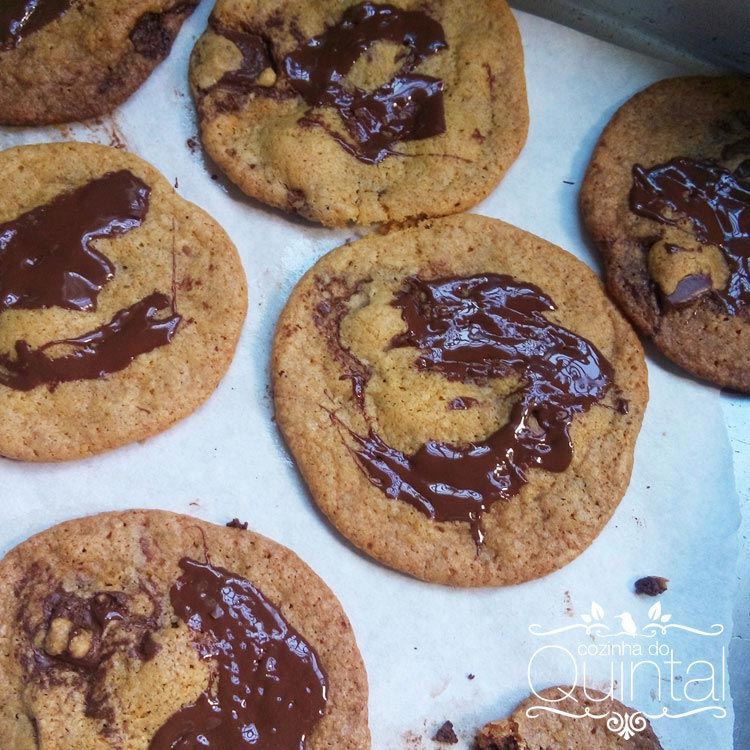 Chococookies da Fê na Cozinha do Quintal