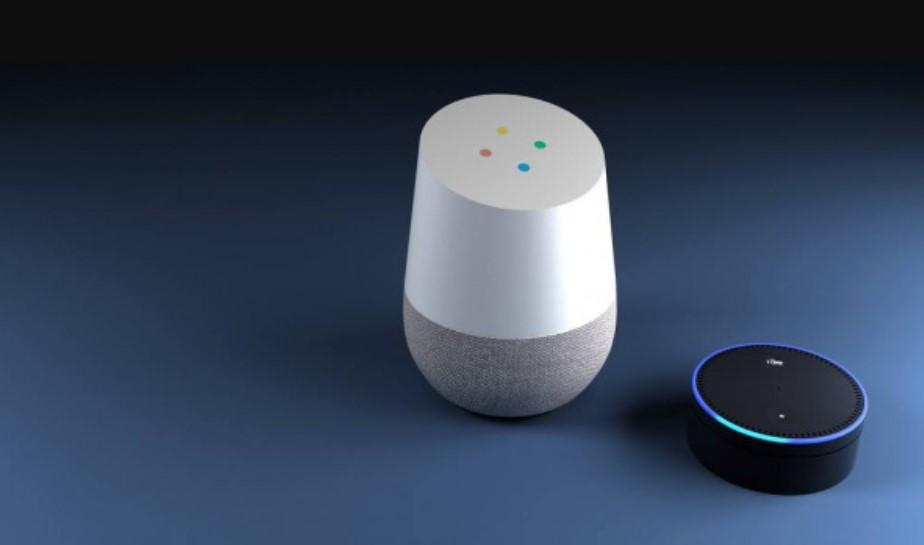 satu set perangkat speaker pintar
