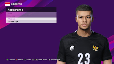 PES 2020 Faces Andritany Ardhiyasa by SR