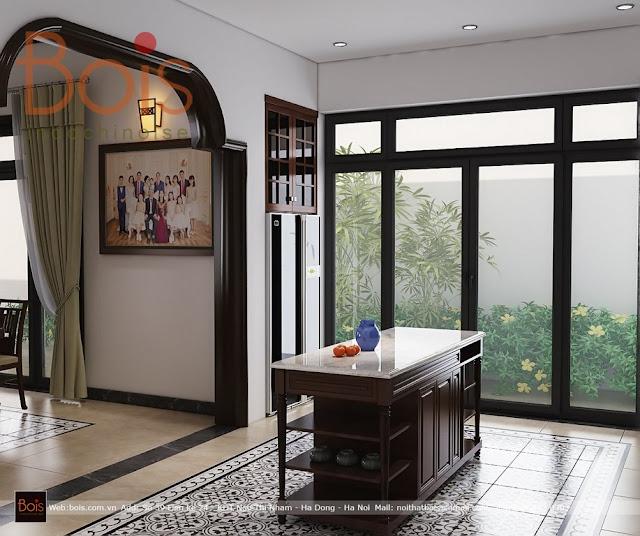 Thiết kế nhà vườn indochine