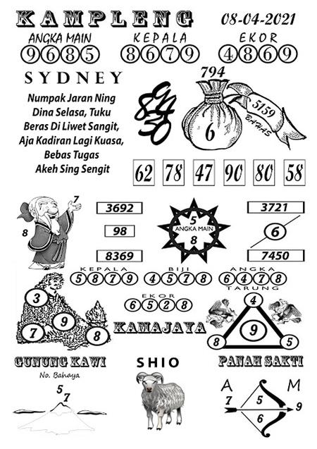 Kampleng Sidney Kamis 08-Apr-2021