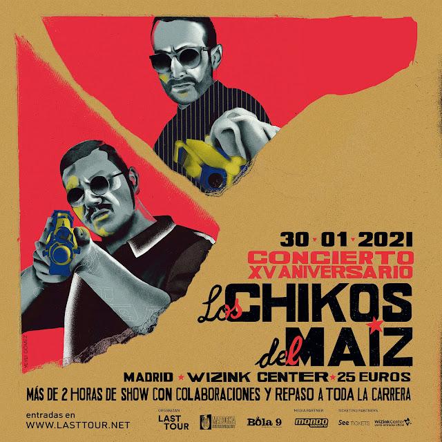 Agenda de giras, conciertos y festivales Chikos