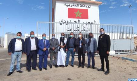 الكركرات.. جامعة الغرف الفلاحية بالمغرب تنوه بحكمة جلالة الملك في تأمين المعبر الحدودي