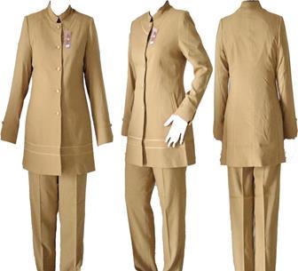 Model Baju Seragam Guru Polos