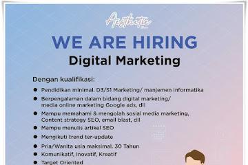 Lowongan Kerja Digital Marketing Bluepin