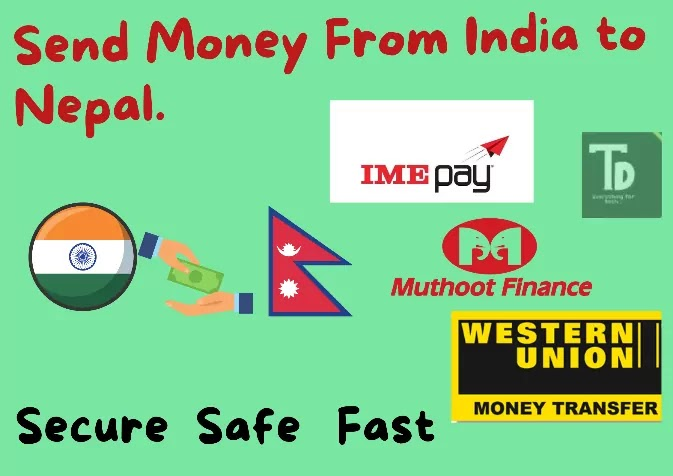 Best way to send money from India to Nepal