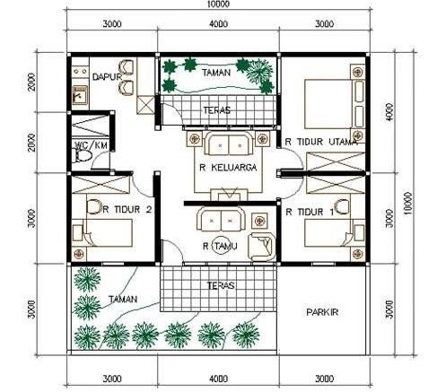 15+ ide istimewa gambar desain rumah islami
