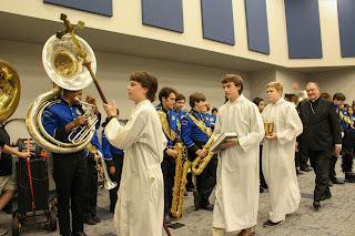 Montgomery Catholic Dedicates New Performing Arts Building 1