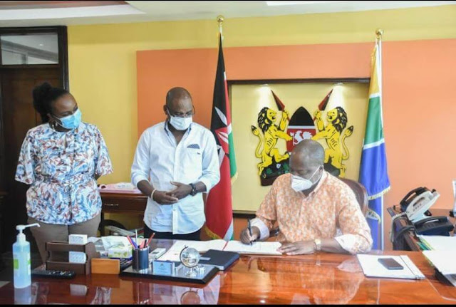 Kilifi county Governor Amason Kingi administration