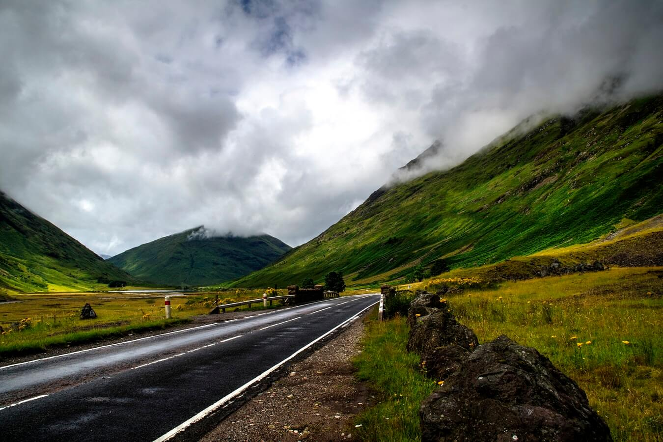 UK Road Trips Countryside