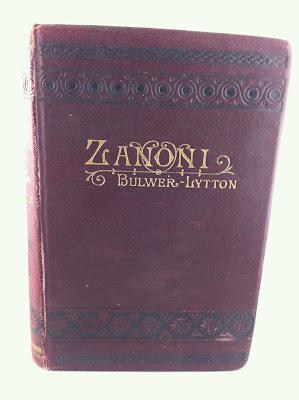 """Roman """"Zanoni"""" von Edward Bulwer-Lytton"""