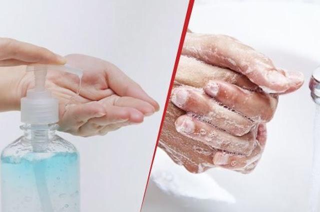 Mana yang terbaik, Cuci Tangan dengan Sabun atau Gunakan Hand Sanitizer?
