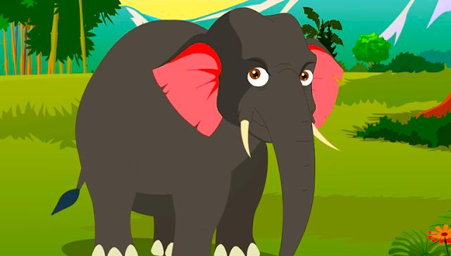 قصة الفيل و الأصدقاء