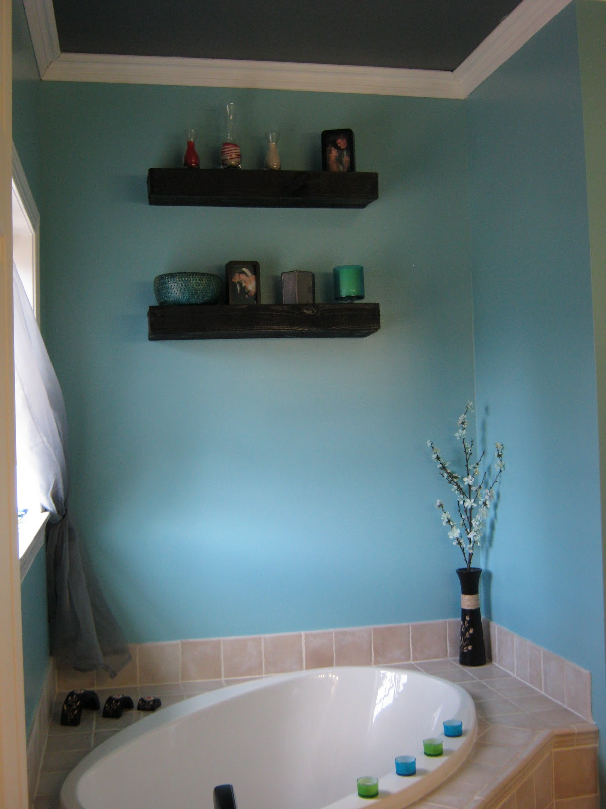 Floating Shelves Above Toilet (21 Image) | Wall Shelves
