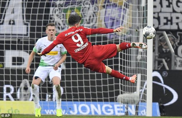 موعد مباراة بايرن ميونخ وبوروسيا مونشنجلادباخ ضمن مواجهات الجوله 32 من الدوري الالماني