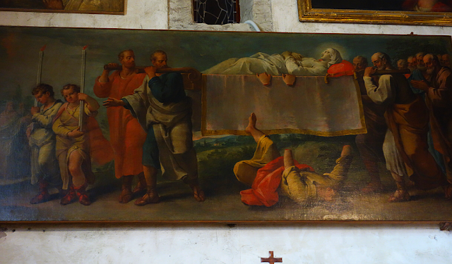 Zázrak v Benátském kostele San Giacomo dell orio, benátky