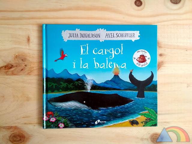 Portada del libro El caracol y la ballena de Julia Donaldson y Axel Scheffler