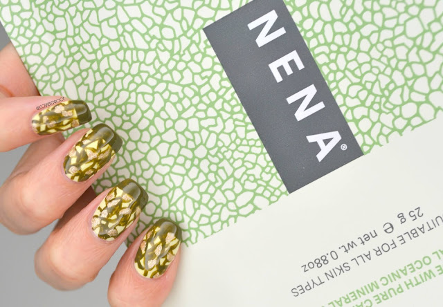 NENA Sheet Mask Nail Art