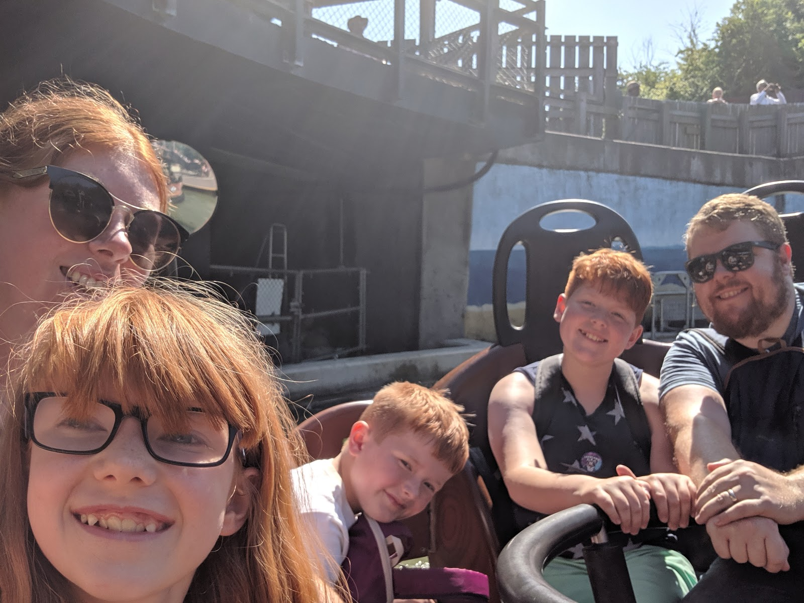 Exploring the Southern Merlin Theme Parks with Tweens  - Viking Water Ride LEGOLAND