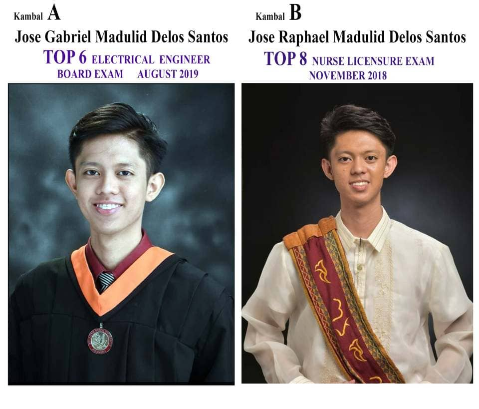 Twins Jose Gabriel and Jose Raphael are topnotchers of separate board exams