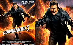 Free Watch and Download Commando 3 movie Trailer in Hindi
