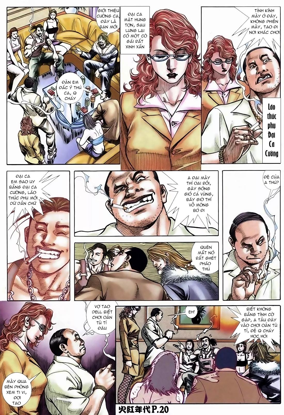 Hỏa Hồng Niên Đại Hắc Cốt Đường Chap 108 - Trang 18