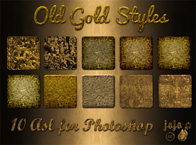 10 Old gold styles