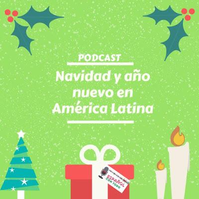 Regalo de navidad, velas y arbolito