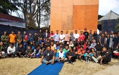 Warek III IIB Darmajaya Buka Artala Wall Climbing Competition IV Tingkat Nasional