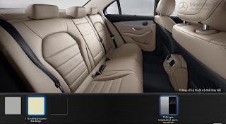 Nội thất Mercedes C200 2017 màu Vàng Silk 115