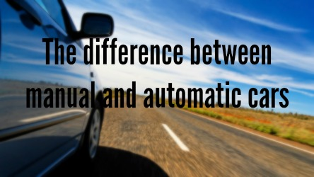 The difference between manual and automatic cars | Girls