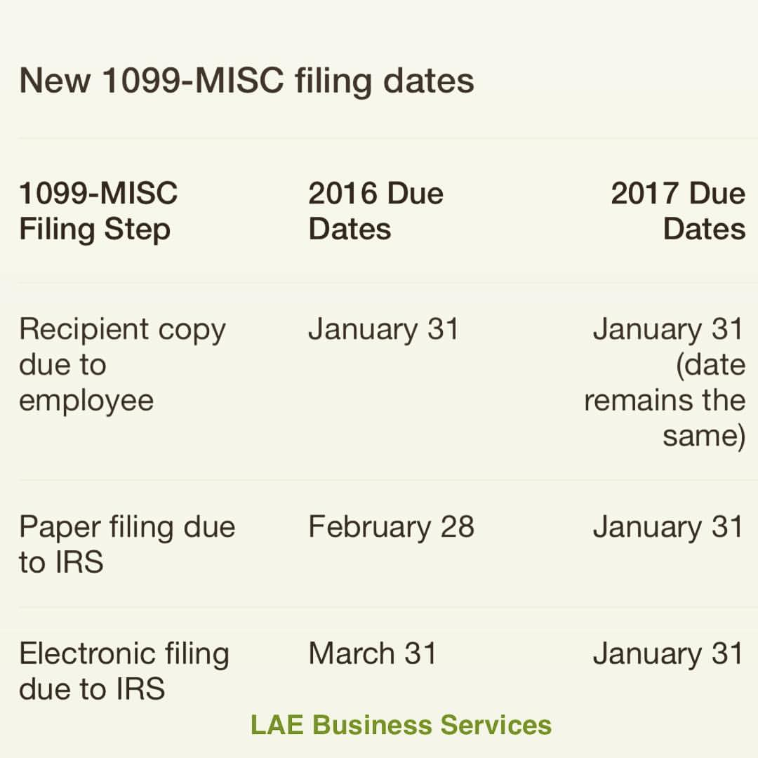 The tax lady 2017 1099 misc new deadline falaconquin
