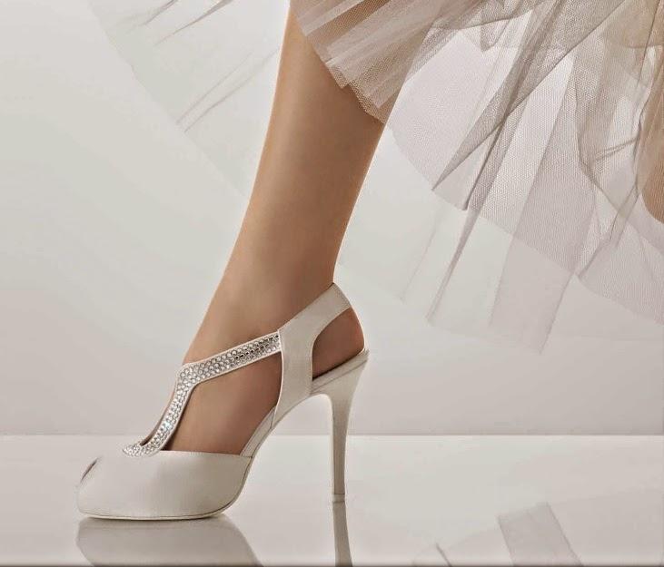 qué zapatos usar el día de tu boda