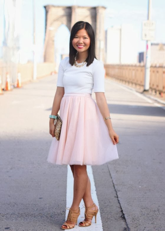 Trending: Tulle skirts and how to wear them
