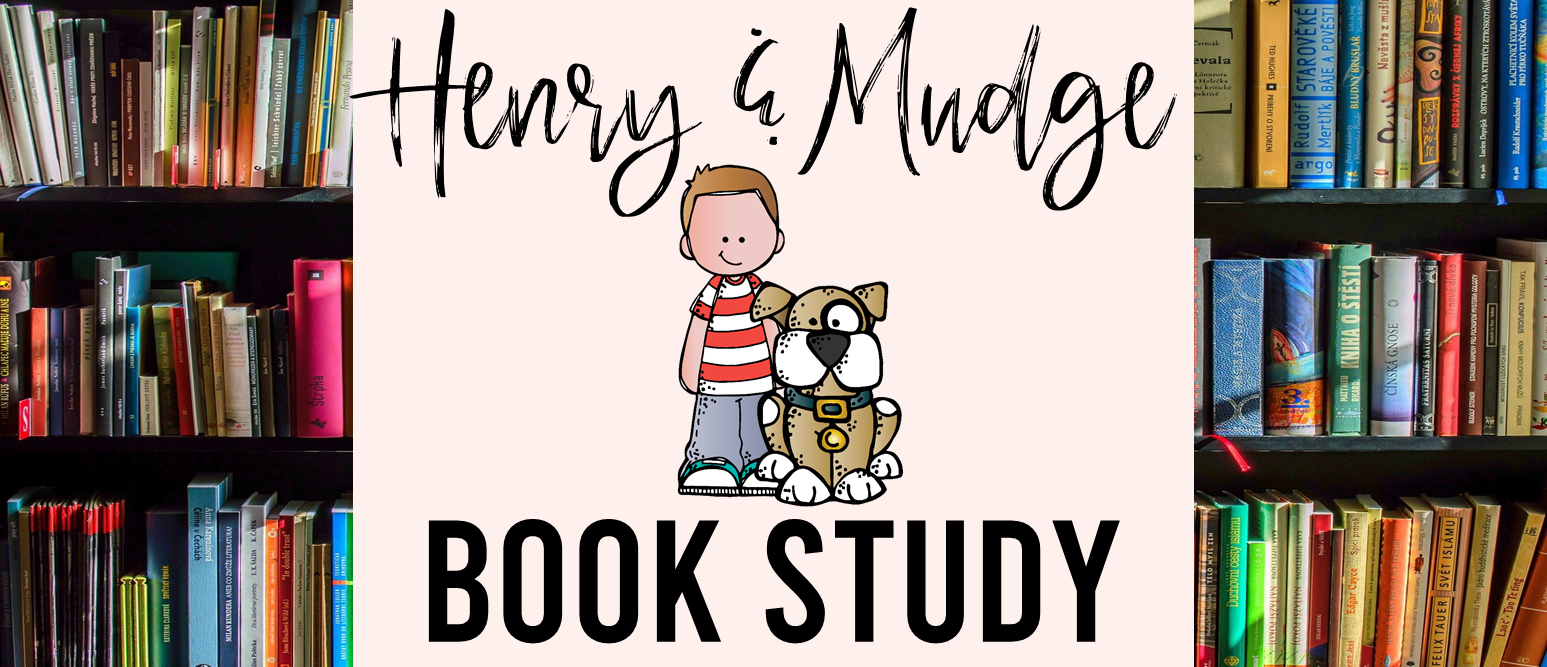Henry and Mudge literacy activities unit Common Core aligned book study for First Grade and Second Grade