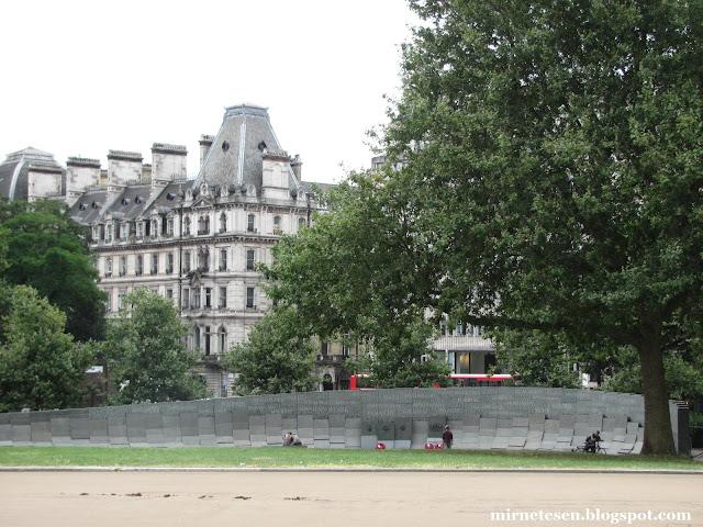 Лондон - Памятник воинам Австралии