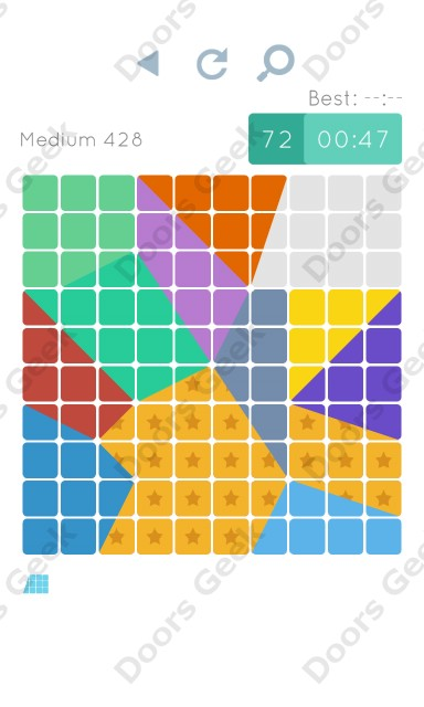 Cheats, Walkthrough for Blocks and Shapes Medium Level 428
