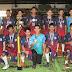 Alunos da escolinha de handebol da Vila Olímpica conquistam o Amazonense Infantil da modalidade