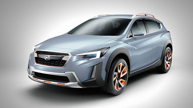 XV Concept previews Subaru design direction