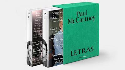 El libro de Paul McCartney 'Letras' se publicará en noviembre