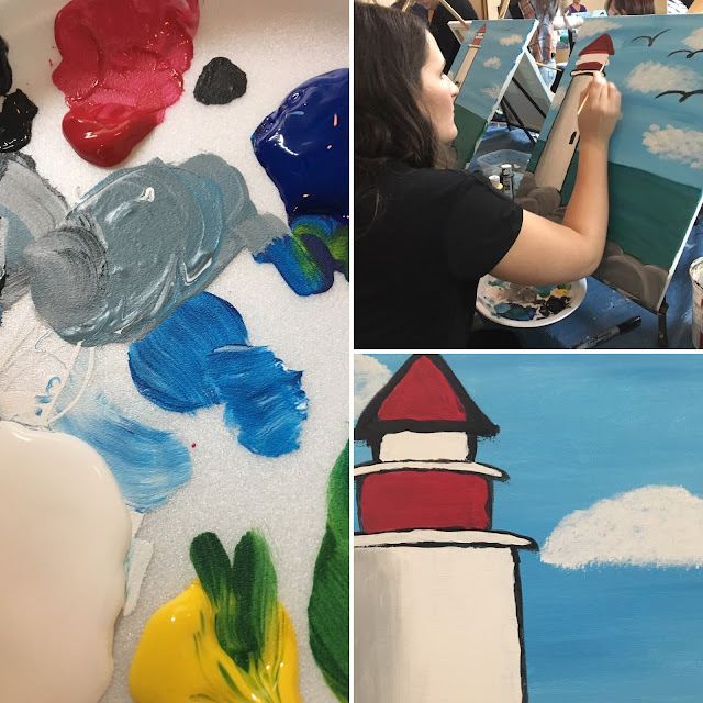 Lessons Learned at Paint Night