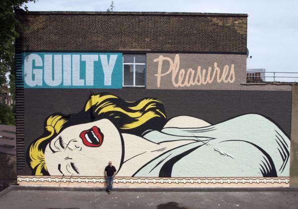 Mural Pop art