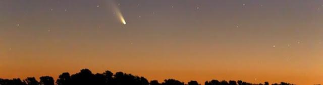 Máxima aproximação do cometa 46P/Wirtanen - 16 de dezembro