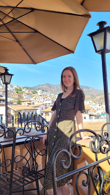 Mimsie Ladner in Taxco, Mexico