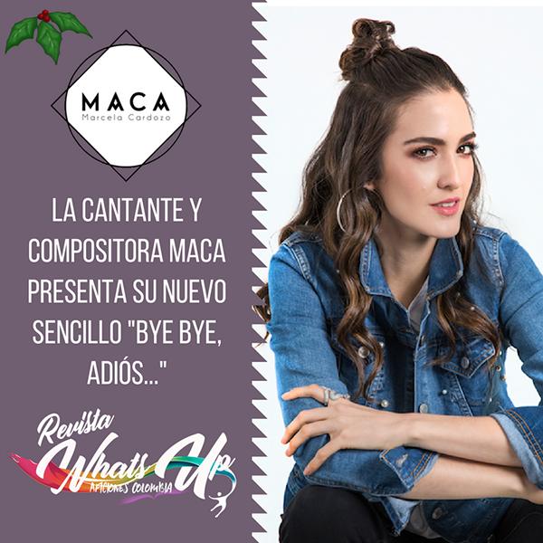 cantante-compositora-Maca-sencillo-Bye-adiós